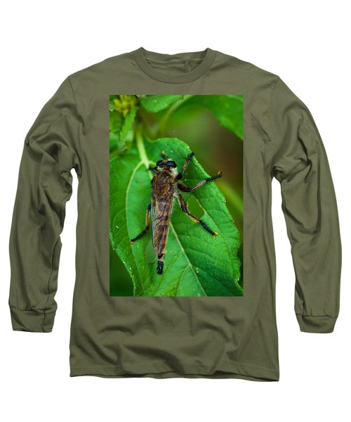 Robber Fly 1 Long Sleeve T-Shirt