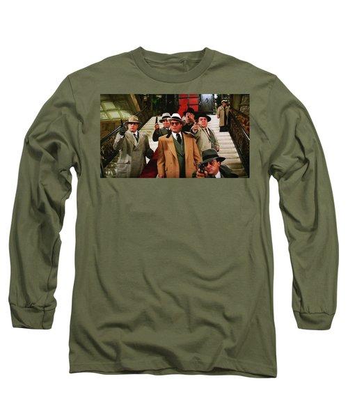 Robert De Niro As Al Capone The Untouchables Publicity Photo 1987 Long Sleeve T-Shirt