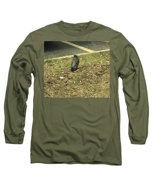 Robin At The Ymca  Long Sleeve T-Shirt