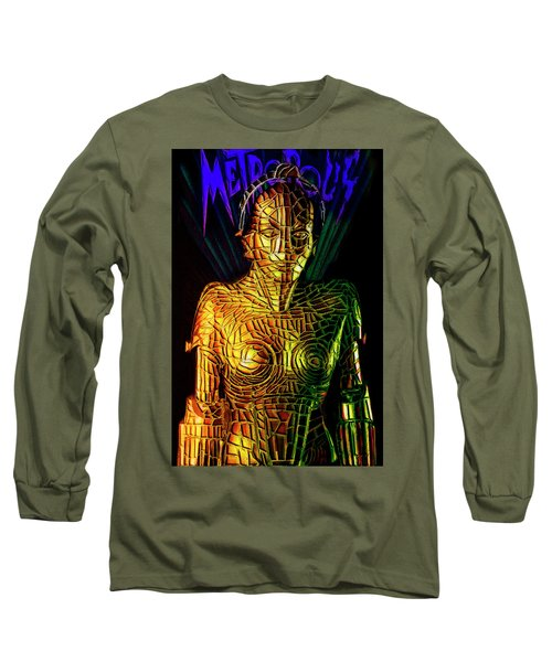 Robot Of Metropolis Long Sleeve T-Shirt