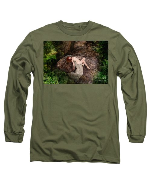 Rock Bathing Long Sleeve T-Shirt