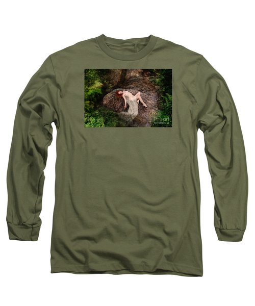 Rock Bathing Long Sleeve T-Shirt
