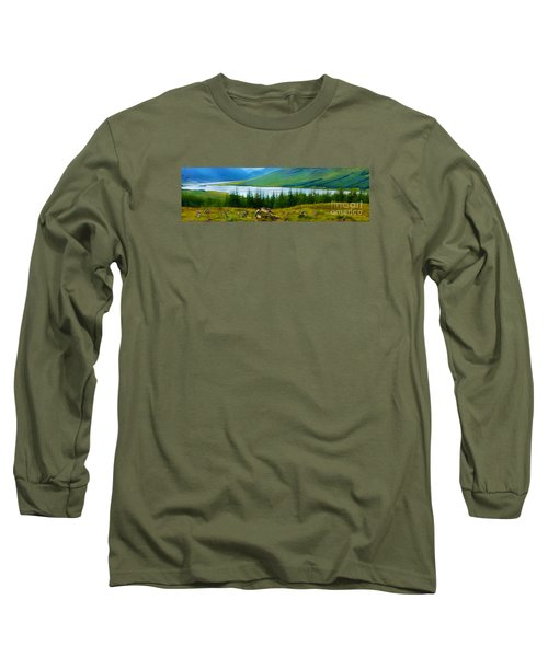 Rock Cairns In Scotland Long Sleeve T-Shirt by Judi Bagwell