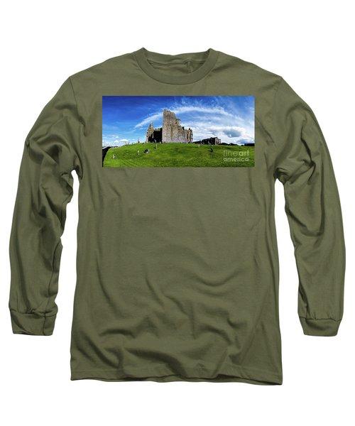 Rock Cashel Long Sleeve T-Shirt by Joerg Lingnau
