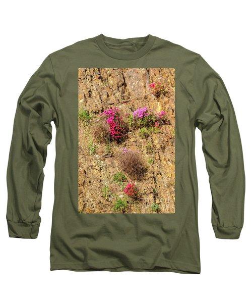 Rock Cutting 1 Long Sleeve T-Shirt by Werner Padarin