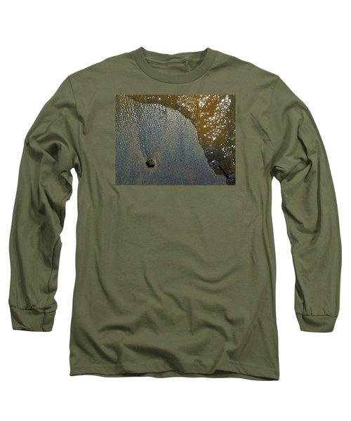 Rock Sand Water Sun 2  Long Sleeve T-Shirt by Lyle Crump