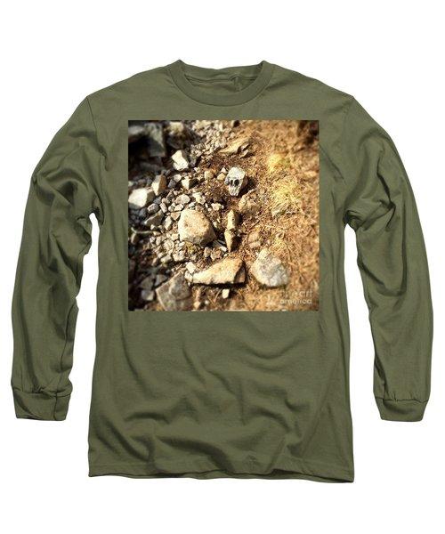 Rock Skull Long Sleeve T-Shirt