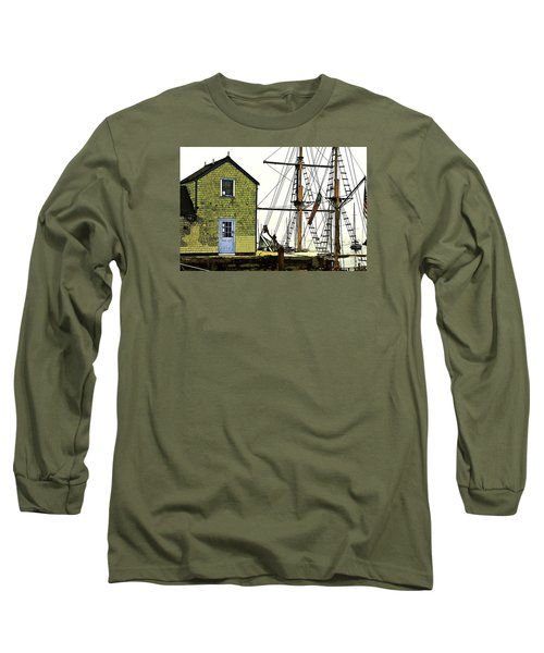 Rockport Harbor Long Sleeve T-Shirt by Tom Cameron