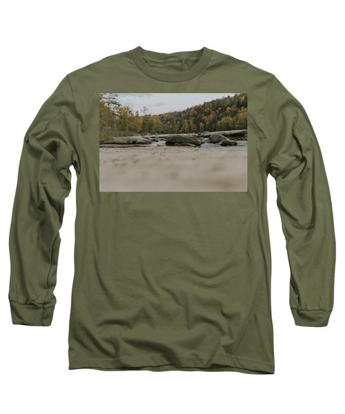Rocks On Cumberland River Long Sleeve T-Shirt