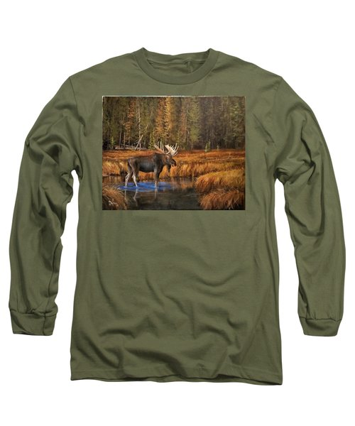 Rocky Mountain Wading Pool Long Sleeve T-Shirt