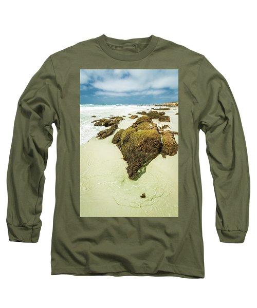 Rocky Shoreline Long Sleeve T-Shirt