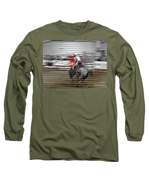 Rodeo Abstract V Long Sleeve T-Shirt