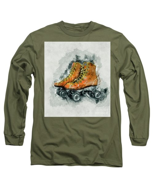 Roller Skates Long Sleeve T-Shirt