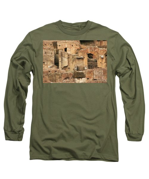 Long Sleeve T-Shirt featuring the photograph Roman Colosseum by Silvia Bruno