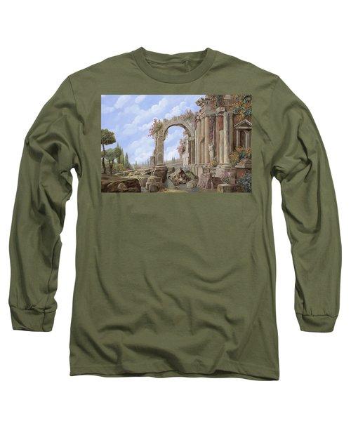 Roman Ruins Long Sleeve T-Shirt