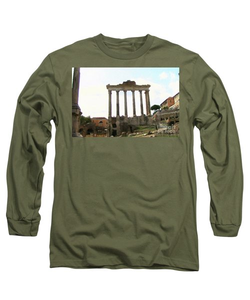 Rome The Eternal City Long Sleeve T-Shirt