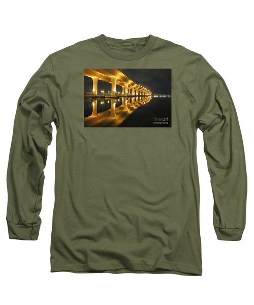 Roosevelt Reflection Long Sleeve T-Shirt by Tom Claud