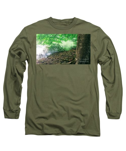 Roots On The River Long Sleeve T-Shirt by Rachel Hannah