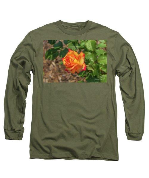 Rosa Peace Long Sleeve T-Shirt by Jim Lepard