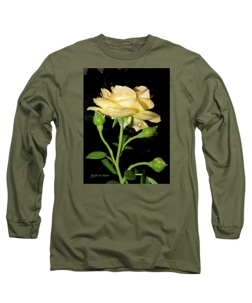 Long Sleeve T-Shirt featuring the photograph Rose 2 by Phyllis Beiser