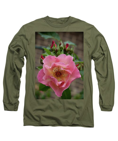 Rose And Buds Long Sleeve T-Shirt