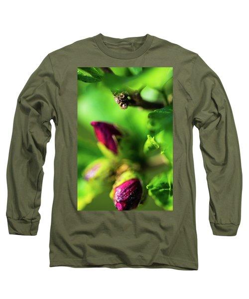 Rose Buds Body Guard Long Sleeve T-Shirt