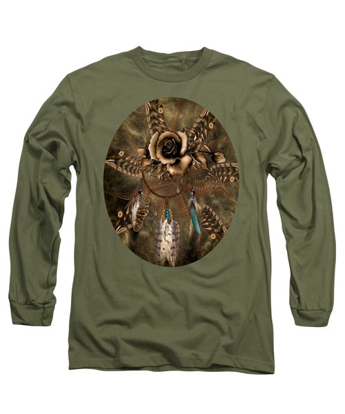 Rose Dreamcatcher Long Sleeve T-Shirt