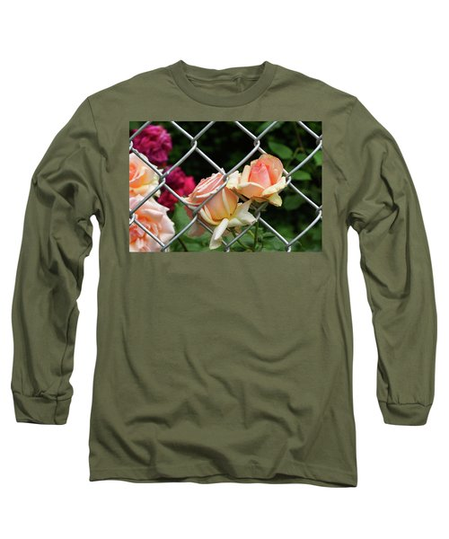 Rose Fence Long Sleeve T-Shirt