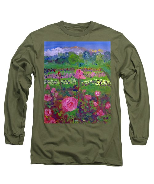 Rose Gardens In Minneapolis Long Sleeve T-Shirt