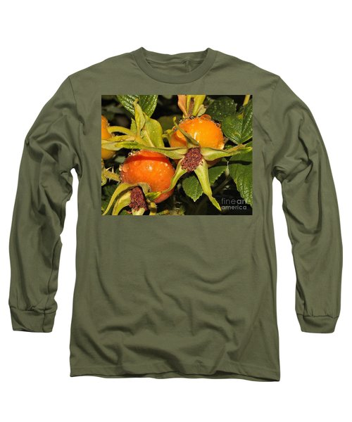 Rose Hips Long Sleeve T-Shirt