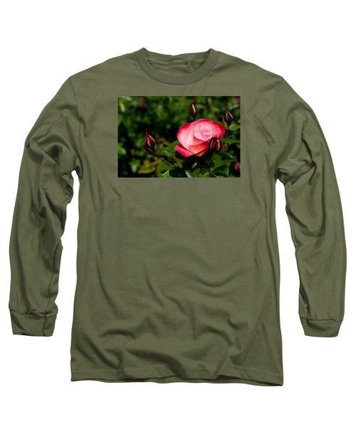 Long Sleeve T-Shirt featuring the photograph Rose by Lora Lee Chapman