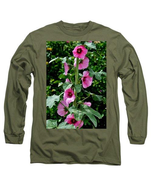 Rose Of Sharon Vine Long Sleeve T-Shirt