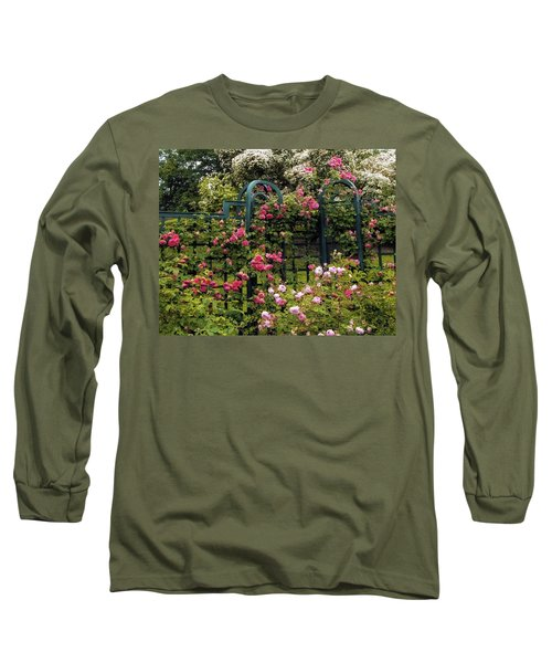Rose Trellis Long Sleeve T-Shirt