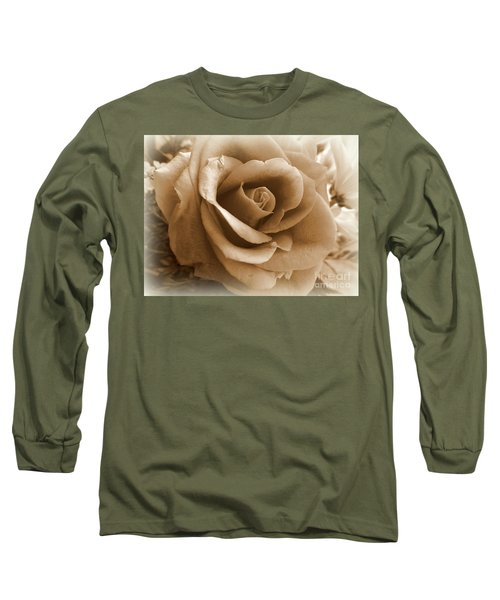 Rose Vignette Long Sleeve T-Shirt