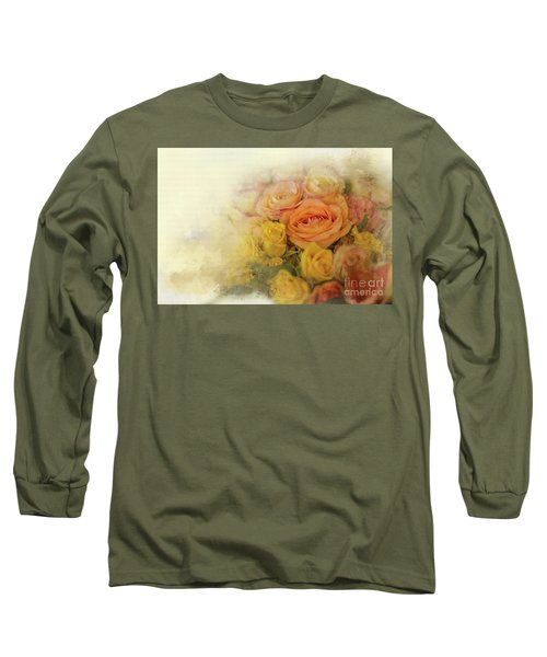 Roses For Mother's Day Long Sleeve T-Shirt by Eva Lechner