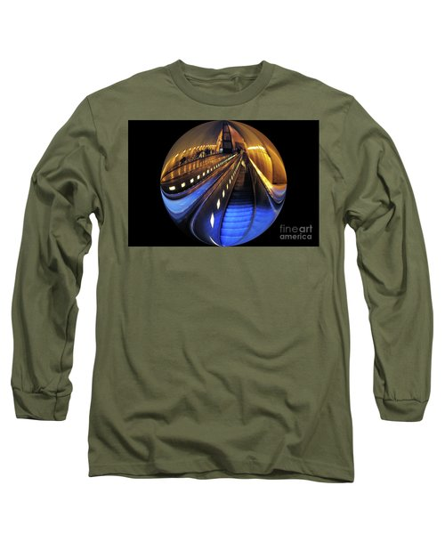 Rosslyn Metro Station Long Sleeve T-Shirt by John S