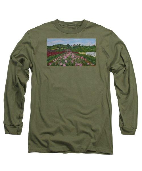 Walking In Paradise Long Sleeve T-Shirt by Felicia Tica