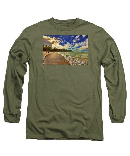 Rough Waters Long Sleeve T-Shirt by Nadia Sanowar