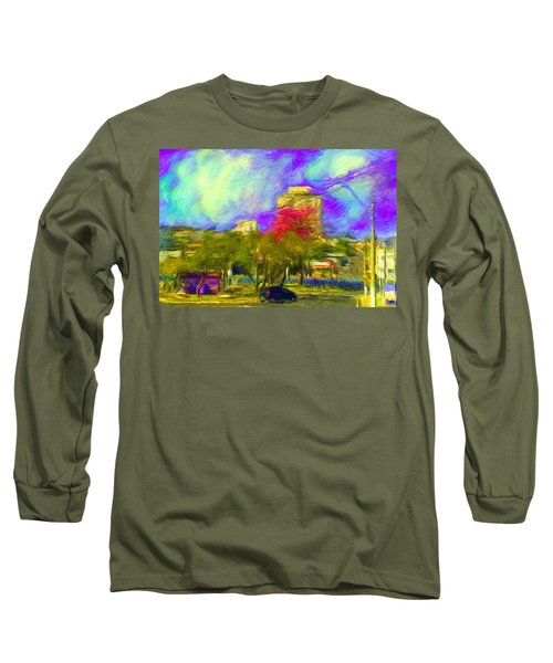 Roundabout In Franca Do Imperador  Long Sleeve T-Shirt