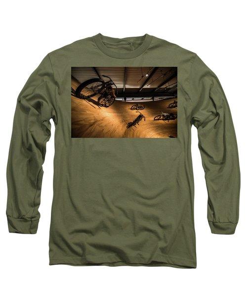 Rounding The Bend Long Sleeve T-Shirt by Randy Scherkenbach