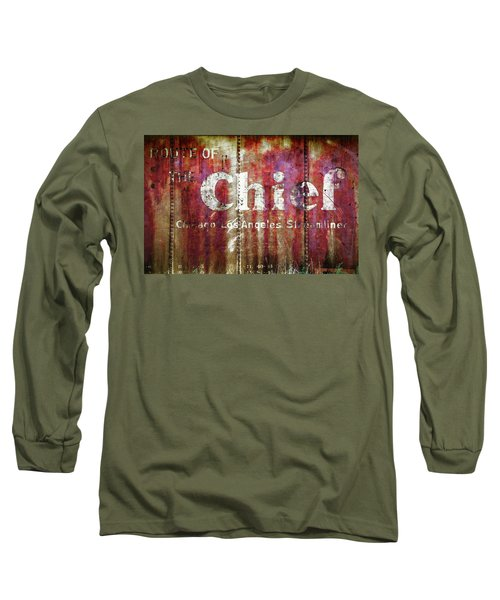 Route Of The Chief Long Sleeve T-Shirt