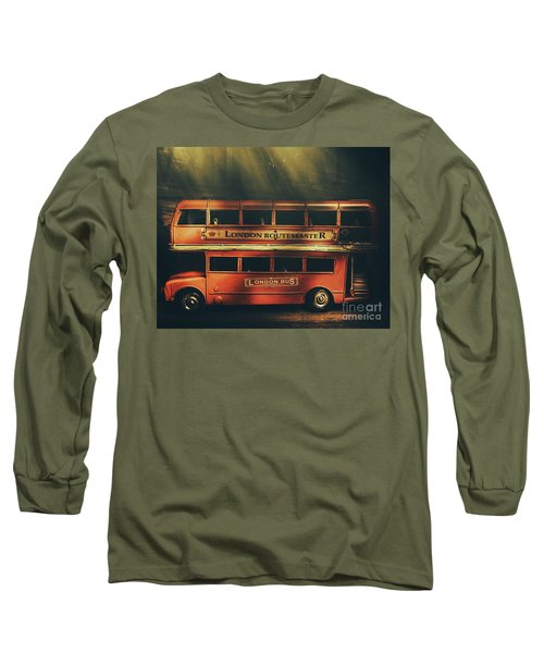 Routemaster Bus Station Long Sleeve T-Shirt