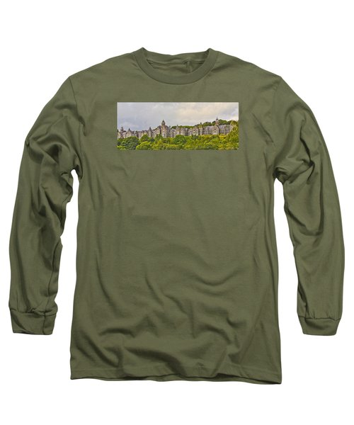 Long Sleeve T-Shirt featuring the photograph Rows by Wanda Krack