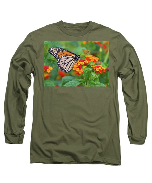 Royal Butterfly Long Sleeve T-Shirt