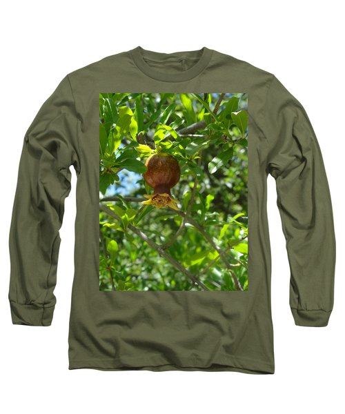 Royal Onion Pomegranate Long Sleeve T-Shirt