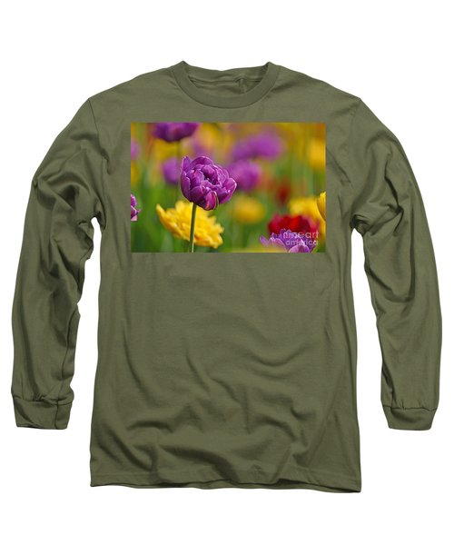 Royal Tulips Long Sleeve T-Shirt