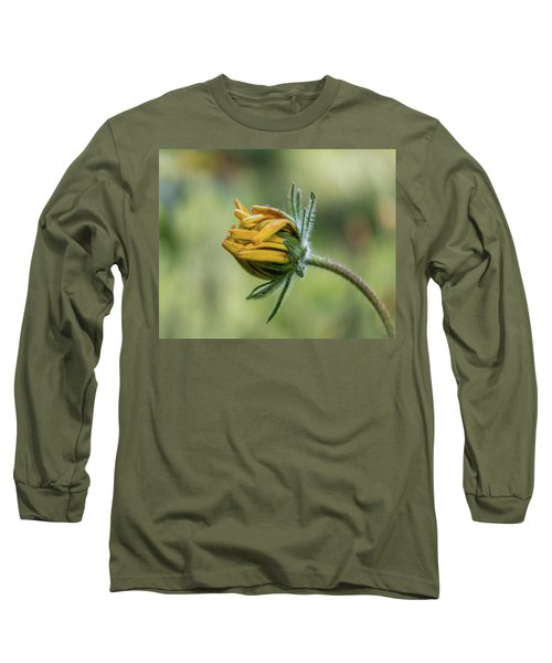 Rudbeckia Fuzzy Bud Long Sleeve T-Shirt