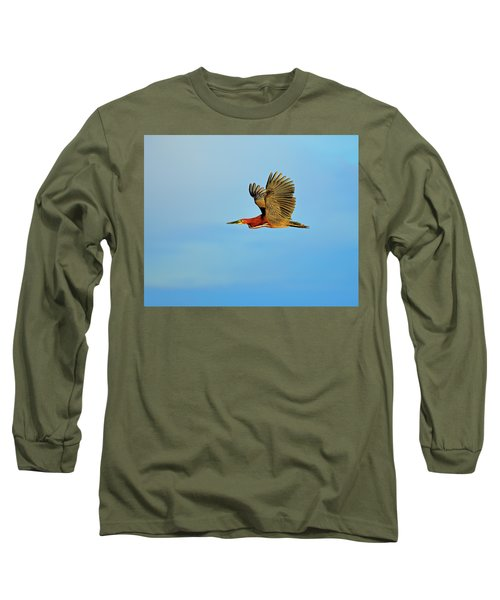 Rufescent Long Sleeve T-Shirt by Tony Beck