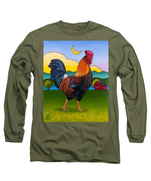 Rufus The Rooster Long Sleeve T-Shirt