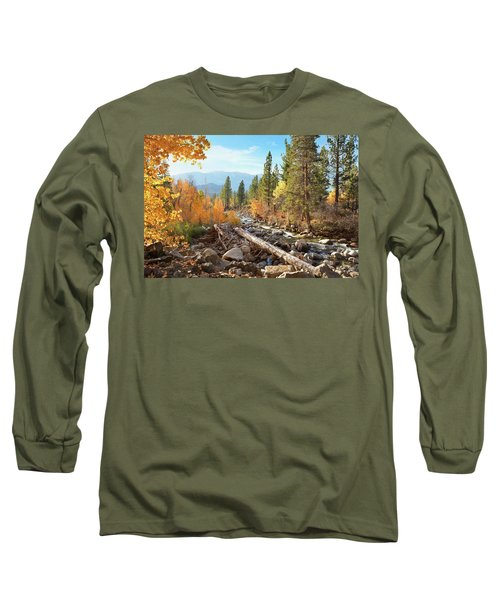 Rugged Sierra Beauty Long Sleeve T-Shirt